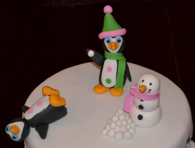 Penguin Sugar Figurines