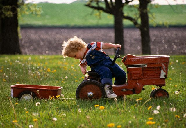 Tractor Pulled Wagon : Best images about pedal tractors on pinterest cars