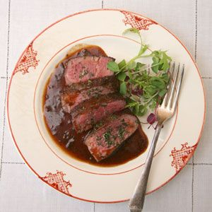 Filet Mignon with Bordelaise Sauce Recipe - Saveur.com  This luscious, wine-enriched sauce is often paired with a hanger steak, a shell steak, or a tender filet mignon. Though this sauce is traditionally served with a dollop of beef marrow, we think it is just as delicious finished with a garnish of chopped fresh parsley and rosemary.