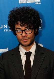 Richard Ayoade, I have been seeing this guy in previews for The Watch, and I thot it was a gag. I thought it was Bill Hader in disguise with a made up name. LOL! Too bad it's not.
