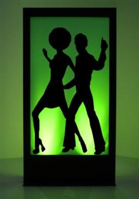 Event Prop Hire: Disco Dancers Silhouette Panel