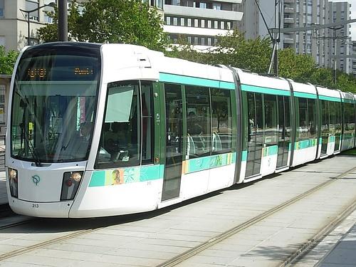 Paris Tram T3 by Il Dottore Magnifico, Porte d'ivry, choisy, italie , Poterne, stade charléty, cité U