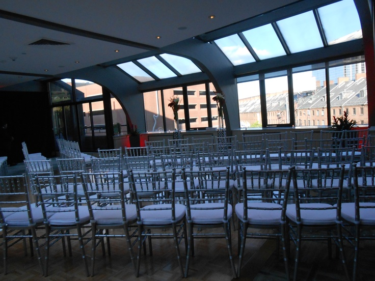 ceremony room at the millennium bostonian hotel in