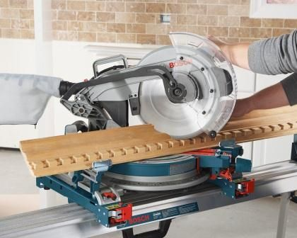Best 25 12 inch miter saw ideas on pinterest double bevel miter bosch single bevel compound miter saw with dust bag and blade change wrench greentooth Choice Image