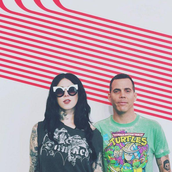 Pin for Later: Steve-O Confirms He's Dating Kat Von D With the Sweetest Message