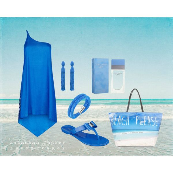 Feeling blue... by catarina-teixeira-de-queiros on Polyvore featuring polyvore mode style Monsoon Nine West Oscar de la Renta Swarovski Dolce&Gabbana