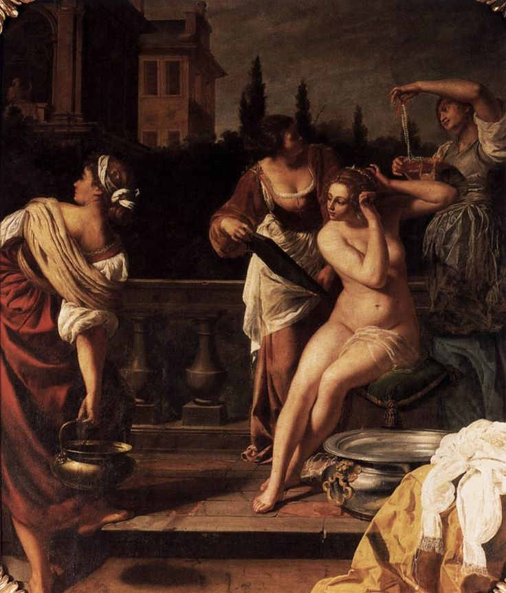 Artemisia Gentileschi Bathsheba -, oil on canvas, Neues Palais, Potsdam