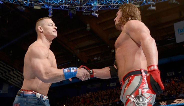 'WWE SmackDown LIVE' Preview: John Cena And AJ Styles Make Title Match At 'Royal Rumble 2017' Official
