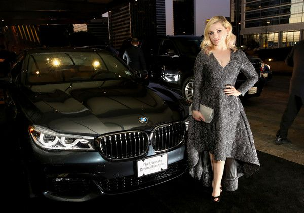 Abigail Breslin Photos Photos - Actress Abigail Breslin arrives in a BMW to the 68th Annual Directors Guild Of America Awards at the Hyatt Regency Century Plaza on February 6, 2016 in Los Angeles, California. - BMW Celebrates the 68th Annual DGA Awards as Exclusive Automotive Sponsor