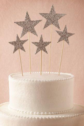 celestial cake toppers