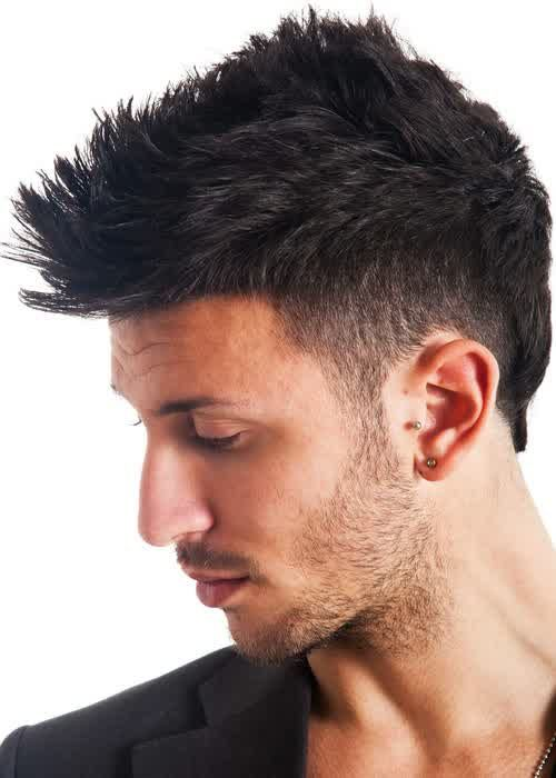 Nice Latest Semi Mohawk Hairstyles for Men 2015