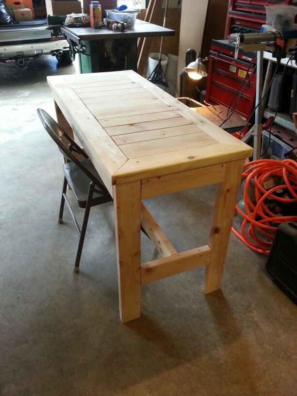 Do It Yourself Home Design: 2x4 Computer Desk
