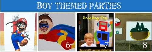 Boy Themed Birthday Parties