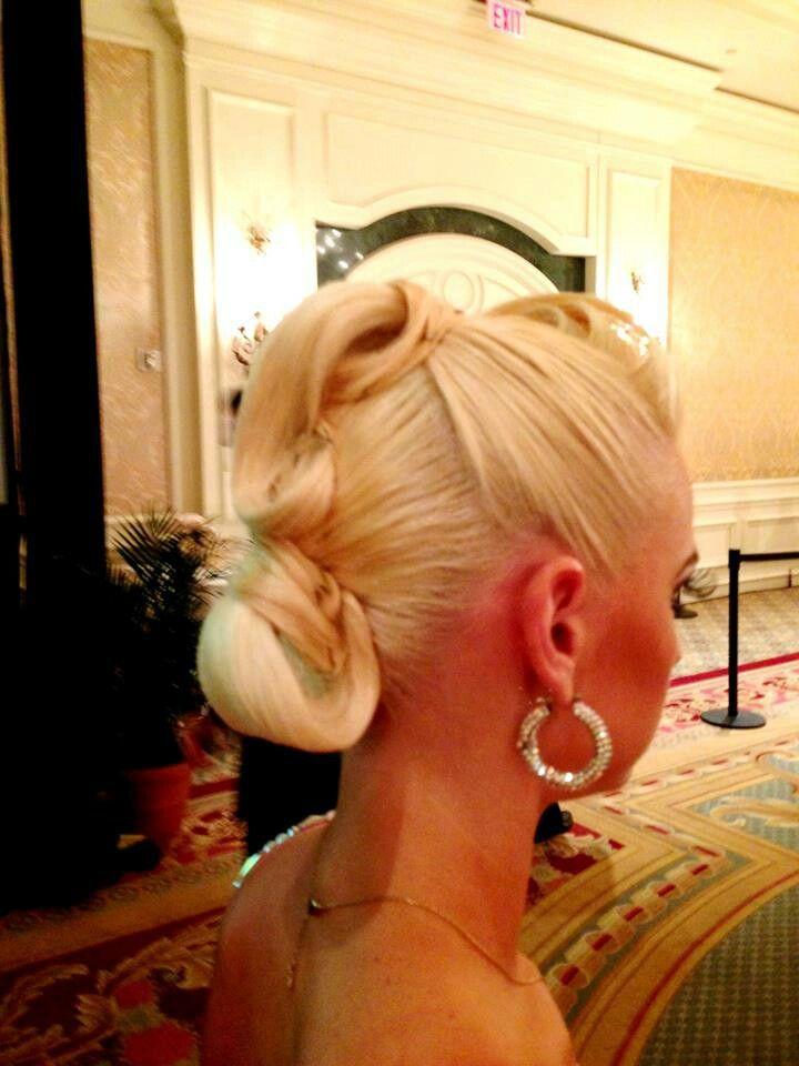 Astounding 1000 Ideas About Ballroom Dance Hair On Pinterest Ballroom Hair Short Hairstyles Gunalazisus