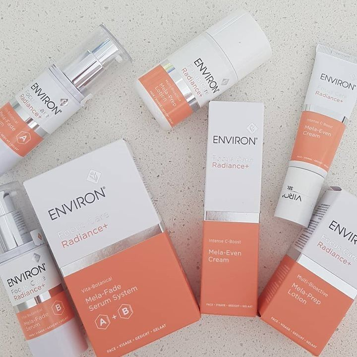 Q How Does Environs New Focus Care Radiance Range Help Target And Prevent Pigmentation And The Formation Of Beauty Emporium Skin Discolouration Radiance Cream