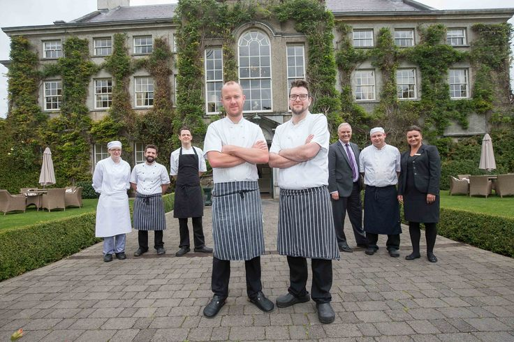 (front L-R) John Kelly and Head Chef Ken Harker with the Lady Helen team - retaining the Michelin Star Lady Helen restaurant. The Lady Helen at Mount Juliet Estate has retained it's Michelin Star for the 3rd year.   www.mountjuliet.ie / 056 777 3000