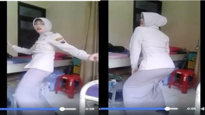 Video Goyang Seksi Pegawai Kepolisian Ini Tuai Kecaman Netizen