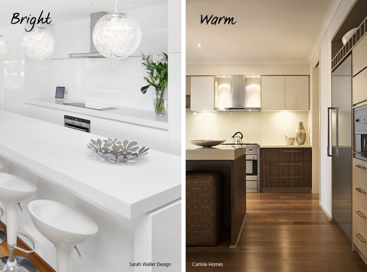 Which kitchen design style would you prefer bright and for Earthy kitchen ideas