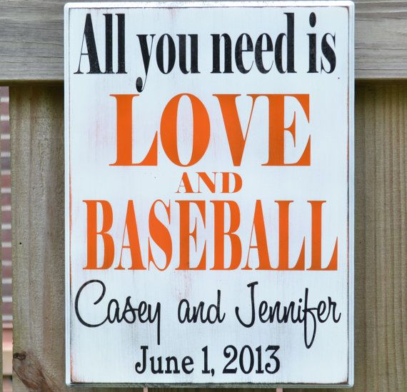 Hey, I found this really awesome Etsy listing at http://www.etsy.com/listing/154275784/all-you-need-is-love-and-baseball