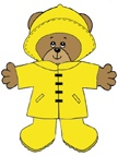 Jesse Bear, What will you wear?  -Weather bear paper doll craft for kids