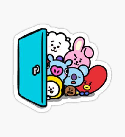 BT21 - Hello Sticker