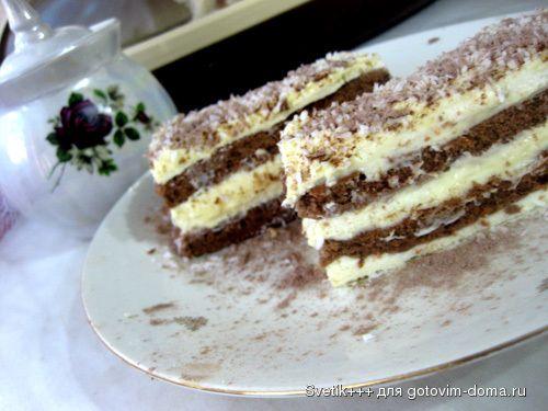 """Пирожные """"Эклипссо"""" творожно-банановые"""