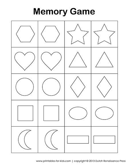 Crazy image regarding matching games for toddlers printable