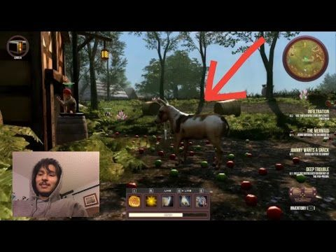 How 2 Play Goat Simulator MMO With Friends Online ft. Sewer Games