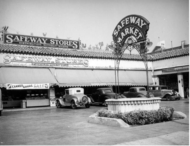 LOS ANGELES / HOLLYWOOD (ca. 1937) 5509 Sunset