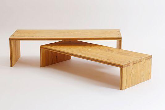KM .27 / ita-kumi low table A | 大工の手 | 【わざわ座】デザイン×ものづくりのプラットフォーム