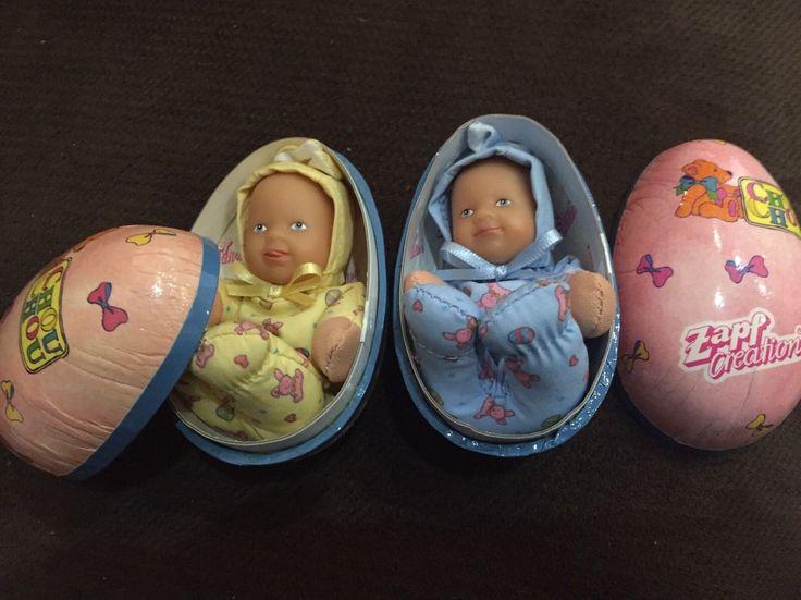 HTF Zapf Creation Chou Chou Surprise Newborn Baby Doll Bunny Easter Egg Sealed! in  | eBay!