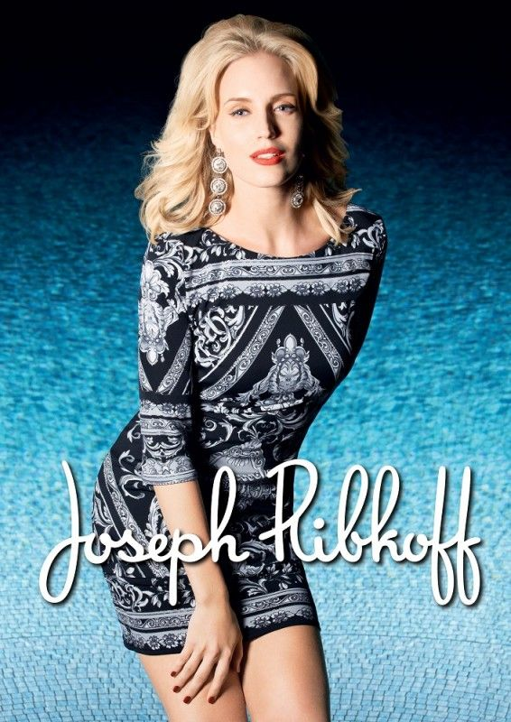Joseph Ribkoff Dress   Black & White   Tunic   Fall 2014 ...