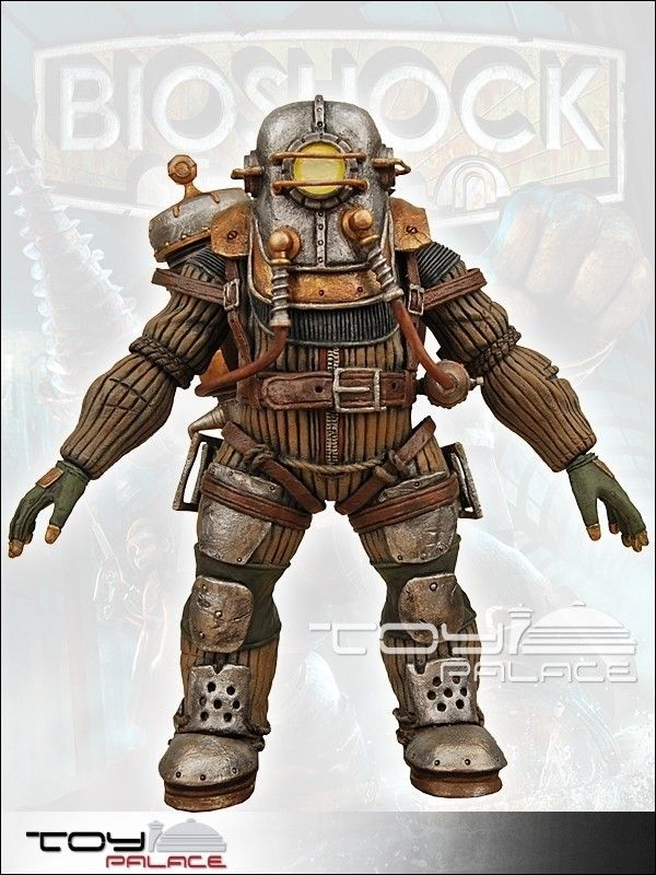 Bioshock 2 Deluxe AF Big Daddy Rosie 20cm - Bioshock - Games