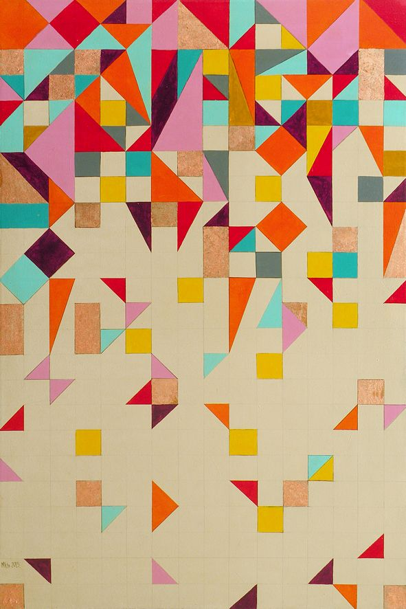 This would be a pretty quilt. I should try this in my free time.