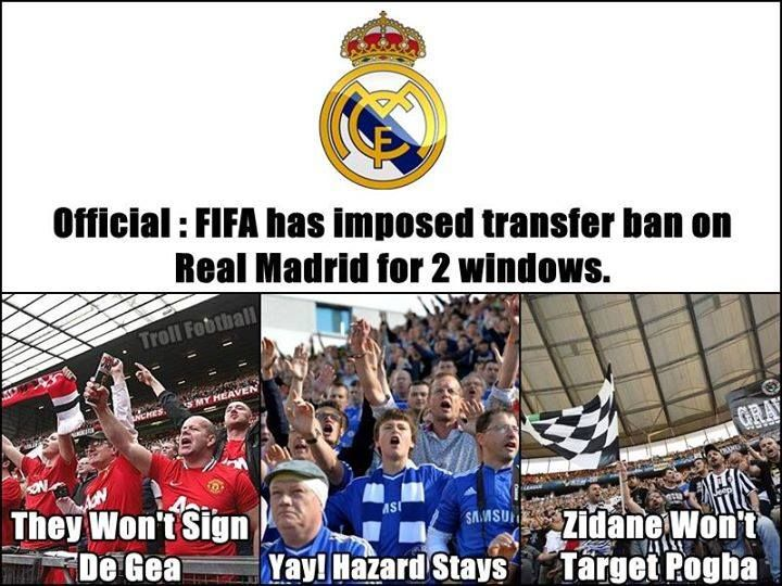 Good news for Manchester United Chelsea Football Club & Juventus fans.   -Viaan