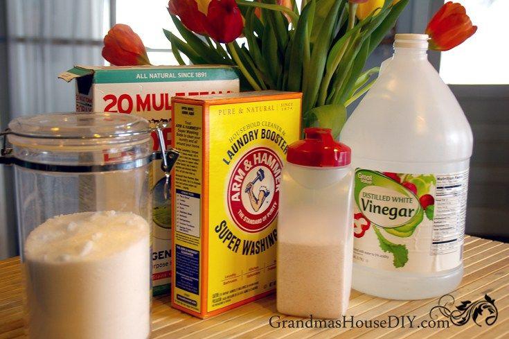 Zelfgemaakte vaatwasmiddel en hoe hard water en witte spul te slaan op uw gerechten!
