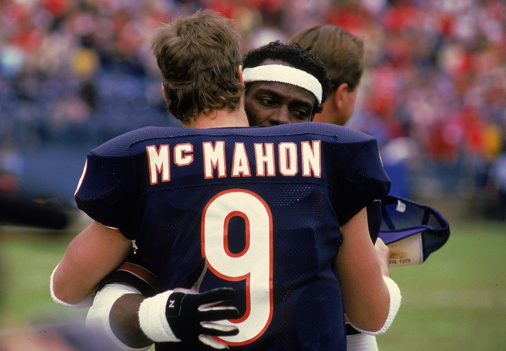 New Walter Payton Bio Shows A Sour Side Of The 'Sweetness'Walter Payton #34Walter Payton #34 of the Chicago Bears hugs Quarterback Jim McMahon #9 after a ...