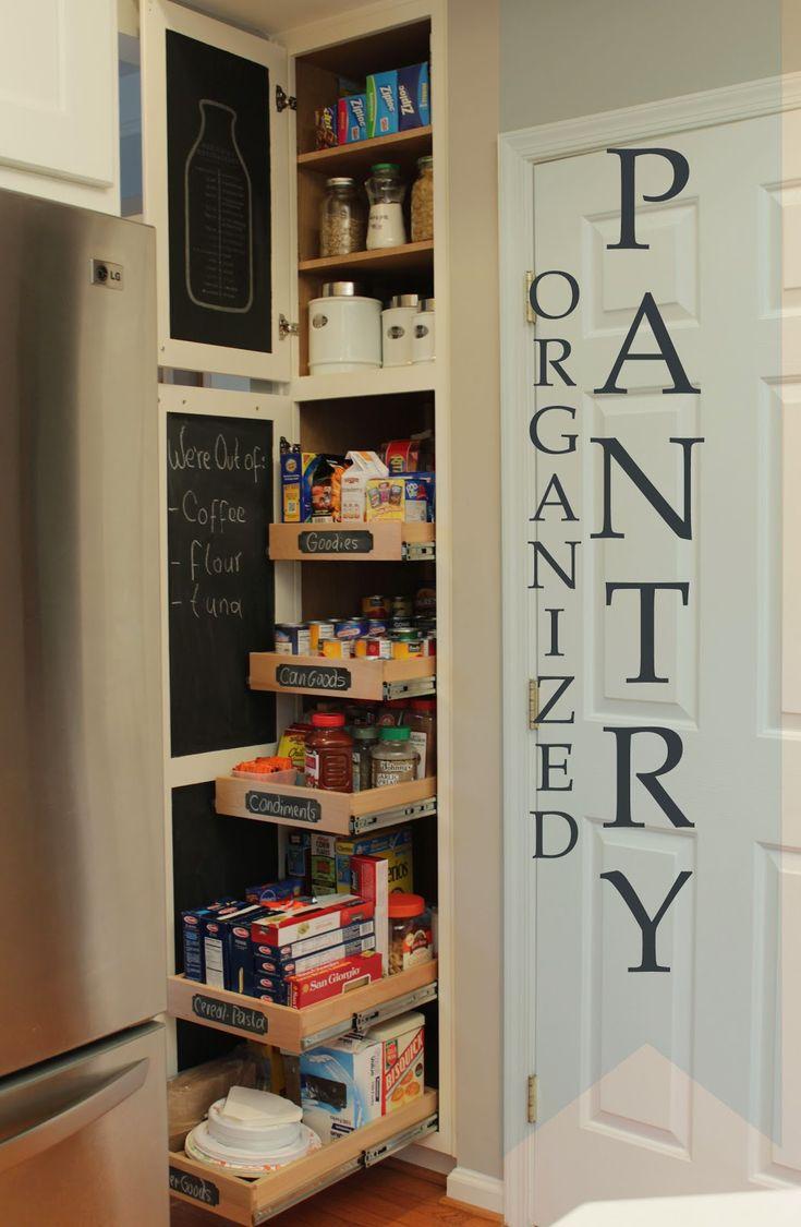 Diy above fridge tray divider narrow pantry pantry