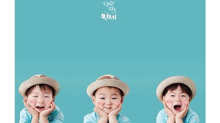 Instagram Song Il Kook - Song Triplets Naik Ke Panggung Temani Ayahnya, Simak Lucunya Di Sini!