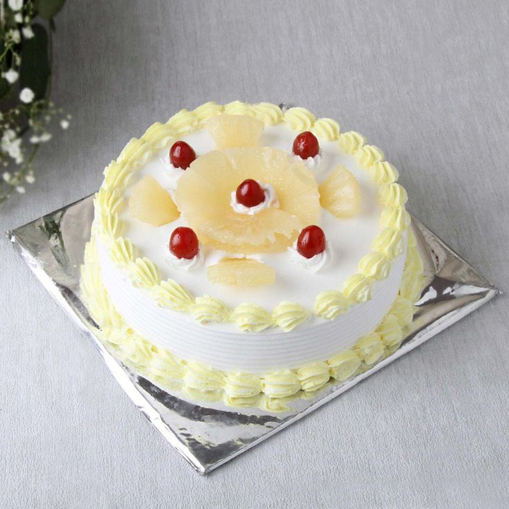 Online Pineapple Cake Delivery in Delhi