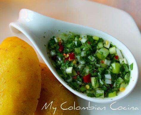 Aji Criollo or Creole Chilli Sauce Colombia, cocin…