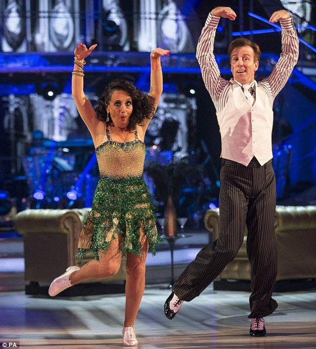 Struggling: Anton Du Beke, who dances withLesley Joseph, is said to be ill