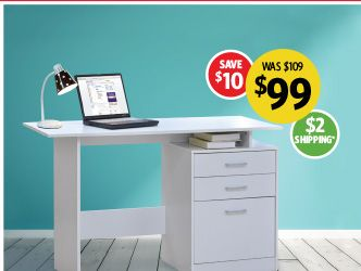 Bianca Home Office Writing Desk