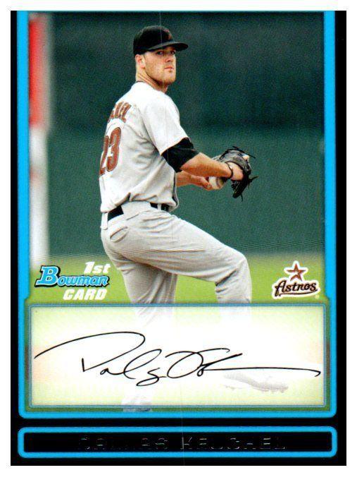 2009 Bowman Dallas Keuchel Rookie Card Houston Astros Houstonastros