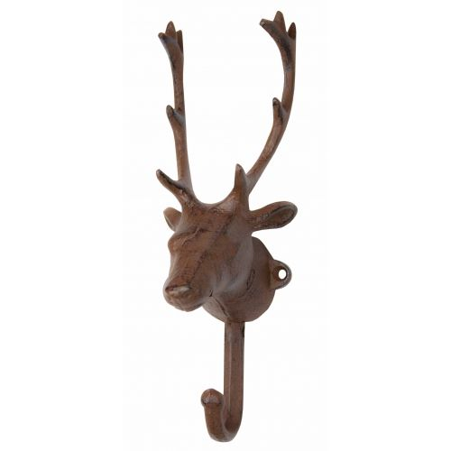 Elk Head Decorative Wall Hook