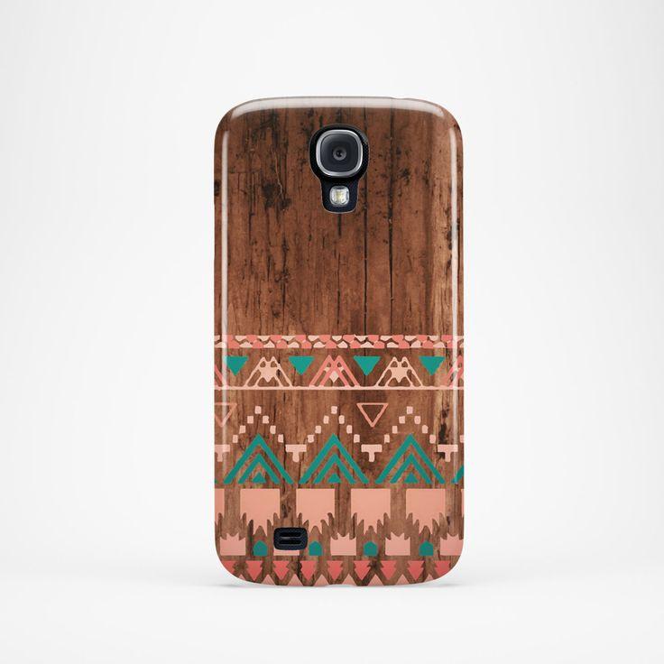 Samsung galaxy s4 case Aztec galaxy s4 case by BasementTwentytwo