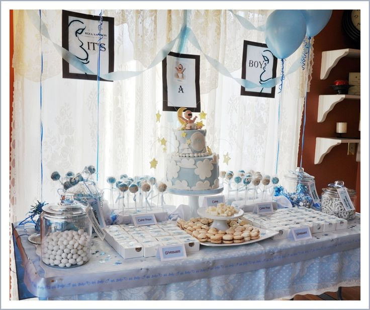 baby shower dessert table baby shower