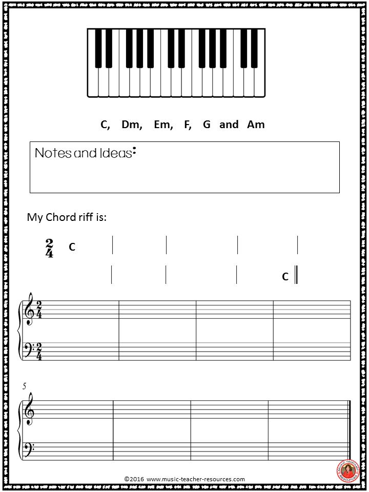 Chord Progressions Music lessons for kids, Music