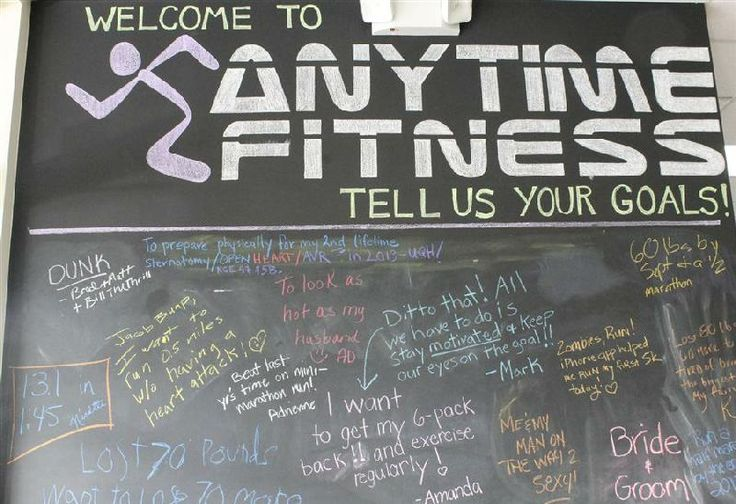 Best anytime fitness boards images on pinterest
