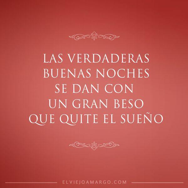 Las verdaderas buenas noches | El Viejo Amargo Que tengáis lindos #sueños con: www.fiestastempranito.com
